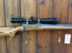 Ruger M77 Mk11 Varmint 22250Rem Scoped Rifle