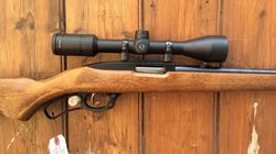 Ruger Ninety Six 22LR Scoped Lever Action Rifle