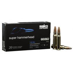 Sako .30-06Sprg 150Grain Super Hammerhead Bonded SP Pkt 20