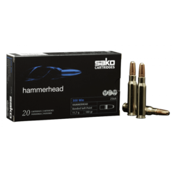 Sako 8x57JS 200Grain Hammerhead Bonded Soft Point Pkt 20