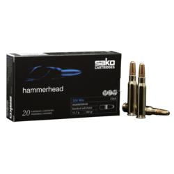 Sako 9.3x62 286Grain Hammerhead Bonded Soft Point Pkt 20
