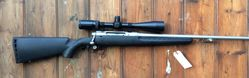 Savage Axis Stainless .243Win Scoped Rifle