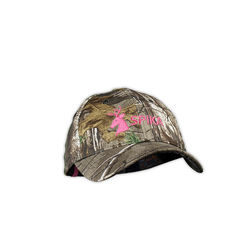 Spika Camouflage Cap Pink