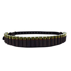 Spika Leather Ammo 12Ga Belt