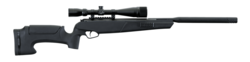 Stoeger ATAC .22Air Synthetic With 4-16x40AO Mil Dot Scope
