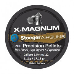 Stoeger X-Magnum Point .22Cal Air Rifle Pellets Qty 200