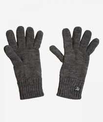 Swanndri Finger Gloves Charcoal Marle