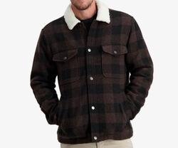 Swanndri Kaituna Sherpa Lined Jacket Timber Check