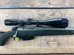 Tikka M595 22 250Rem Scoped Rifle
