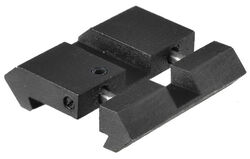 Leapers UTG Dovetail To Picatinny Rail Adaptor