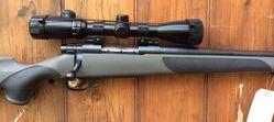 Weatherby Vanguard 243Win Scoped Rifle