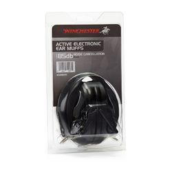 Winchester Electronic Ear Muffs Black (85DB)