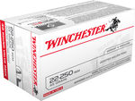 Winchester USA 22-250Rem 45Gr JHP Value Pack