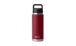 YETI Rambler 26oz Bottle Harvest Red With Chug Cap